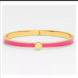 Kate Spade Hot Pink Gold Everyday Bracelet Bangle